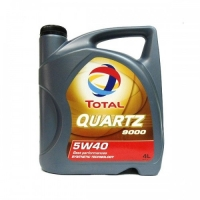 Моторное масло Total Ouartz 9000 5w40  SM/CF 4 л