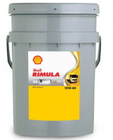 Моторное масло SHELL Rimula R4 X 15W40 20л