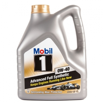 Моторное масло Mobil 1 New Life 0W-40 4л.